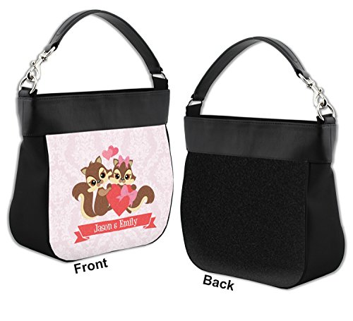 w Trim Personalized Genuine Hobo Leather Couple Purse Chipmunk Front S4qtaA