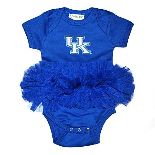 Kentucky Wildcats Blue New (Two Feet Ahead NCAA Kentucky Wildcats Children Girls Tutu Creeper,Nb,Royal)