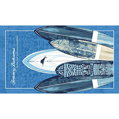 Tommy Bahama Beach Towel, Features Surfside Beach Design, Absorbent and Soft, Dimension 40'' x 70''
