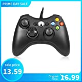 RegeMoudal Xbox 360 PC Game Wired Controller for Microsoft Xbox 360 and Windows