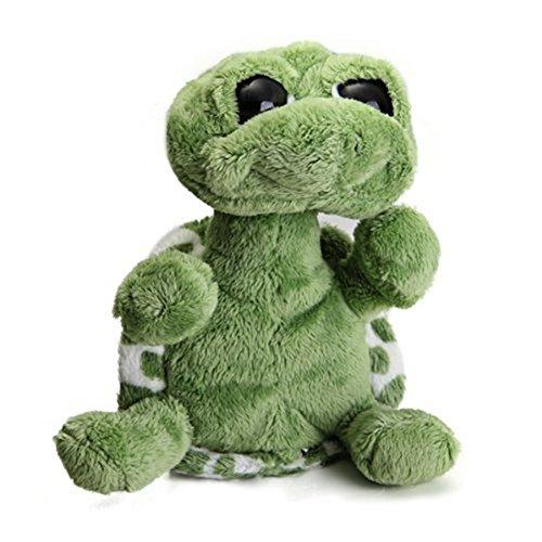 NO:1 Niedlich Plüschtiere Großer Gemusterter Plüsch Schildkröte Puppe Weich Spielzeug - Grün