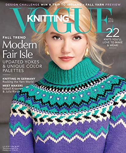 Vogue Knitting Magazine (Fall, 2018) Modern Fair Isle