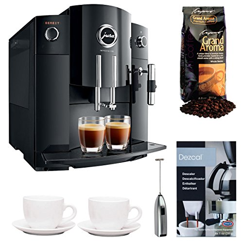Jura Impressa C60 Automatic Coffee Center Bundle