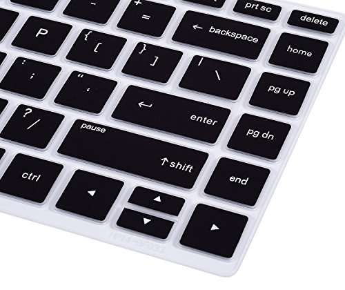 CaseBuy Laptop Keyboard Compatible 2019 2018 HP X360 14-BF 14-cm 14-CF Series 14 inch Skin HP Laptop Black