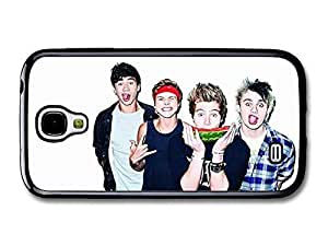 AMAF ? Accessories 5 Seconds Of Summer Funny Faces Watermelon Boyband case for Samsung Galaxy S4 wangjiang maoyi by lolosakes