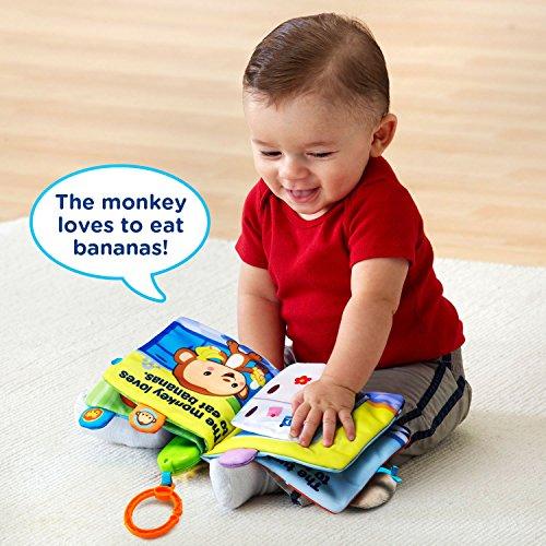 512R8J vJWL - VTech Peek & Play Baby Book Toy