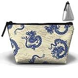 zebra blue car seat covers - Dragon Mode Classic Cosmetic Travel Bag Cosmetic Bag Zipper Storage Bag