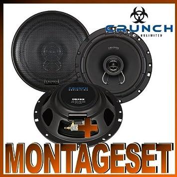 Crunch Dsx 62 Lautsprecher Für Audi A4 Typ B5 Amazonde Elektronik