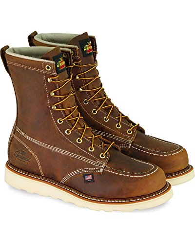 Sole Brown Wedge EH Brown Boots Leather Thorogood 814 Work Lace Mens 4178 Up 6IUpzzTqwx