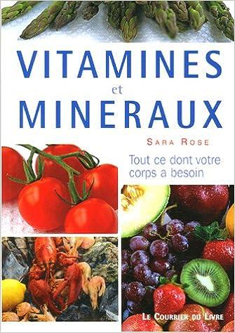 Lire Vitamines et minéraux pdf ebook