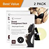 [2 Packs - 10 Pairs] TOP RATED Breast Enhancement Patches - Natural Breast Enlargement, Lifting and Firming Patch That Works Fast