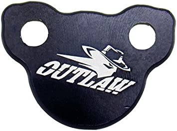 Outlaw Racing Billet Rear Master Cylinder Reservoir Brake Cap Black CR CRF KX KXF RM RMZ YZ YZF WR