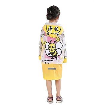 a29b802a5 HUPLUE Kids Rain Coat Children Raincoat Rainwear Rainsuit