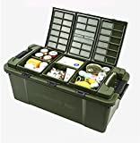TOCHENG Premium SUV Organizer, Simplest and Most Durable Trunk Organizer , green