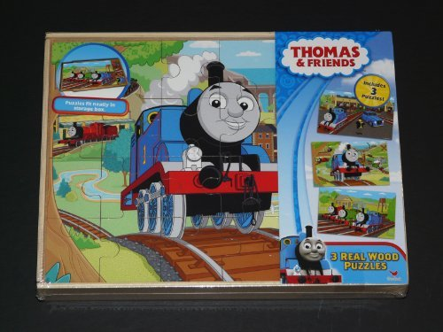 Thomas Friends Wooden Puzzles Storage