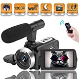Vlogging Camera Video Camera, Camcorder for Youtube camera with...