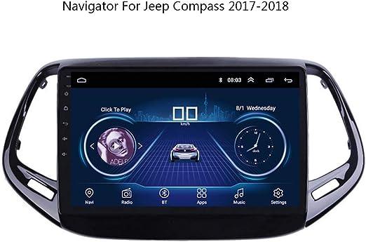 C/ámara de visi/ón Trasera HD 1280 x 720p Resistente al Agua IP69K visi/ón Nocturna para Jeep Compass 2017 2018 2019 MP//552