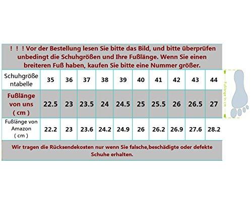 Schwarz Damen Schuhe Websneaker rot jazzdance Sport Fitness Turnschuhe YBqYr