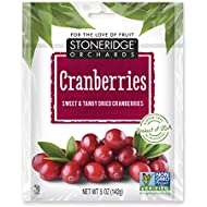 Stoneridge Orchards Dried Cranberries 4 oz - Sweet And Tangy