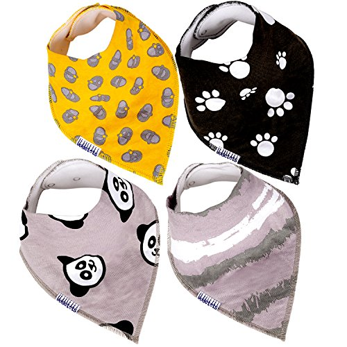 Bandana Bibs for Babies and Toddlers, Unique Infant Gift, Un
