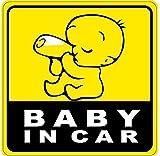 LeSo© Baby on Board Car Sticker S007