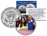 PRINCESS CHARLOTTE of Cambridge 2015 JFK Half Dollar US Coin Prince William Kate