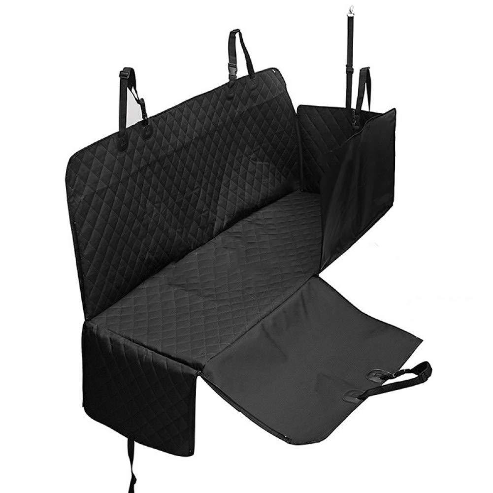 black M CZHCFF paw toe black dog car Anti-slip zipper predector for dog car seat hammock outdoor dog car travel accessories