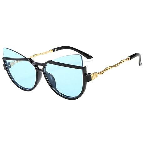 ZFMLXFMM Gafas de Sol polarizadas para niños Cat Eye ...