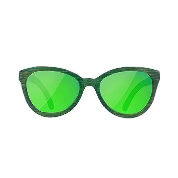 HAOYUXIANG Retro Bambusbeschichtung Polarisierende Sonnenbrille Männlich Und Weiblich Allgemeines,C8