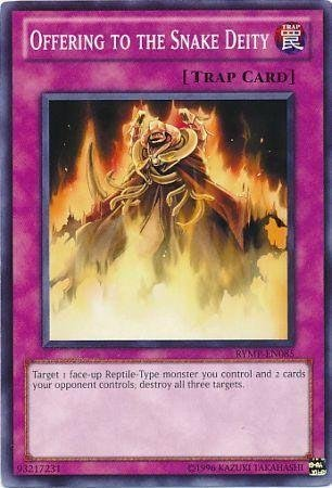 Yu-Gi-Oh! - Offering to the Snake Deity (RYMP-EN085) - Ra Yellow Mega-Pack - Unlimited Edition - Common