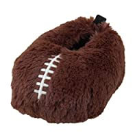 Image of Fun Football Slippers for Boys & Toddlers