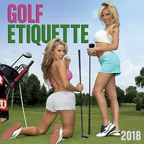 Golf Etiquette 2018 Wall Calendar