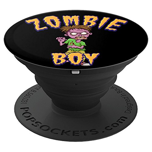 Halloween Zomboy Zombie Kid Dead Person Rigor mortis - PopSockets Grip and Stand for Phones and Tablets