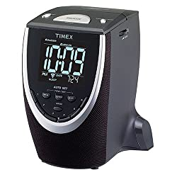 Timex T313B Auto-Set Dual-Alarm Clock Radio (Black) (Discontinued by Manufacturer)
