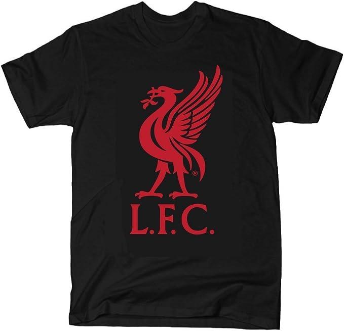 Oficial Liverpool FC negro camiseta diseño de equipo Liverpool