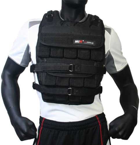 miR – 120LBS PRO Long Style Adjustable Weighted Vest
