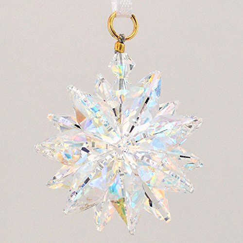 Small Austrian Crystal - Aurora Borealis Suncluster with Austrian Crystal