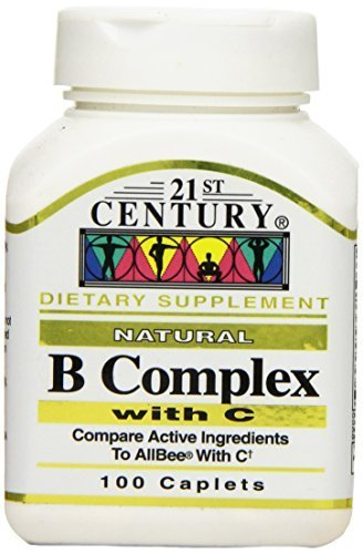 21st Century B Complex with C Tablets, 100-Count by 21st - Mall Century Stores City