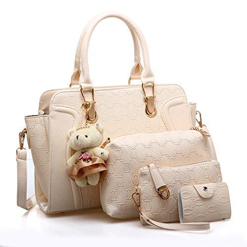 ZM Voyage Shopping Sac Dames Sac Messenger 4 Fourre Nylon Sac Pliage tout Sacs Bandoulière Occasionnel Sac Bag Femmes à Main De Main à Plage Fourre à tout En BZ6Bqr