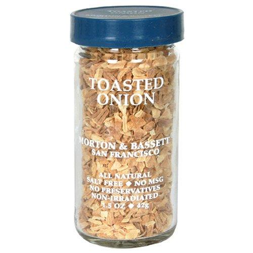 Morton & Bassett Toasted Onion, 1.5-Ounce Jars (Pack of 3) by Morton & Bassett