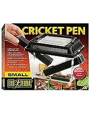 Exo Terrra Cricket Pen, behållare med dispenserrör, skötselset för grillar, stor, 21 x 30 x 19,5 cm