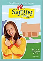 Signing Time Volume 4: Family, Feelings & Fun DVD  Directed by Doug Chamberlain