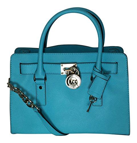 Michael Kors Hamilton East West Satchel - Kors Aqua Bag Michael