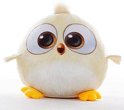Cute Bird Plush Cushion Soft Toy (Beige; 35cm)