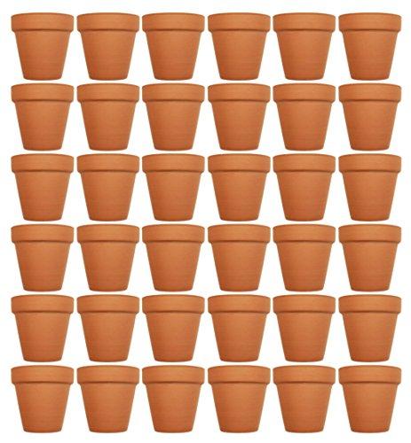 Set of 36 Terra Cotta Pots! 4