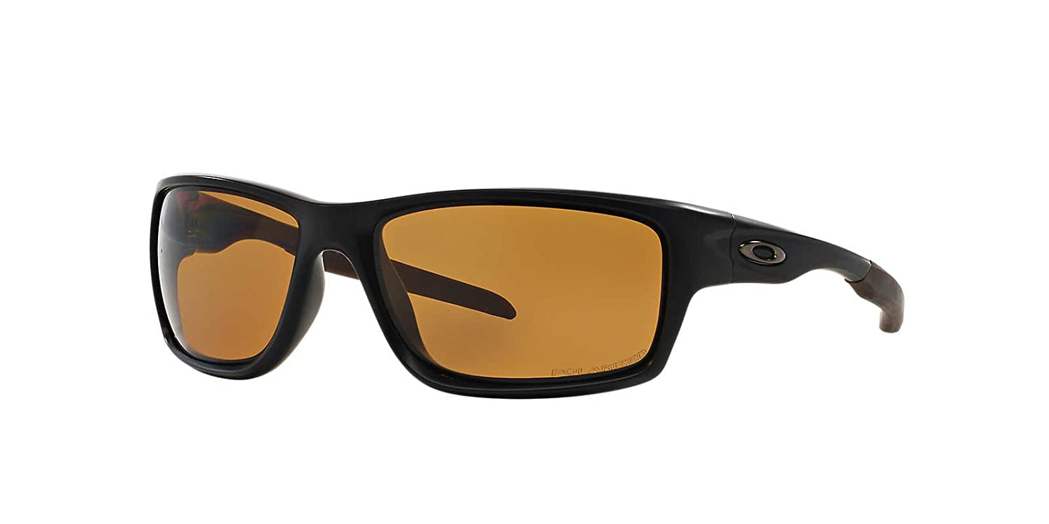 127d2f03cee Oakley Sunglasses Canteen 9225-03 Polished Black Bronze Polarized  Amazon.co .uk  Shoes   Bags