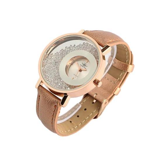 Reloj Mujer Doree y Brillantes Pulsera Dorado precya – Mujer