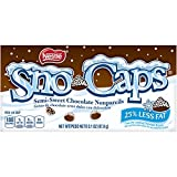 Sno-Caps 15 Piece Video Pack Semi Sweet Chocolate Nonpareils, 3.1 oz