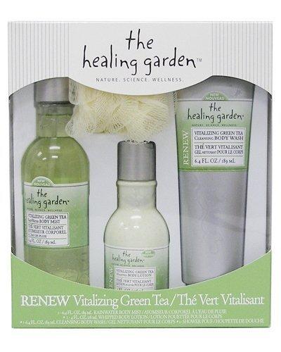 (The Healing Garden Gift Set, Vitalizing Green Tea)
