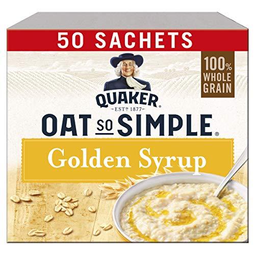 Oat So Simple 50 Instant Porridge pouches (Golden Syrup)